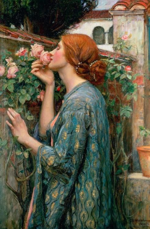 johnwilliamswaterhouse_thesouloftherose
